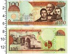 Изображение Банкноты Доминиканская республика 100 песо 2002  UNC