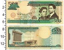Изображение Банкноты Доминиканская республика 500 песо 2006  UNC