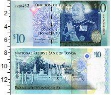 Изображение Банкноты Тонга 10 панга 2008  UNC