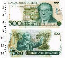 Изображение Банкноты Бразилия 500 крузейро 0  UNC Дирижер Эйтор Вилла-
