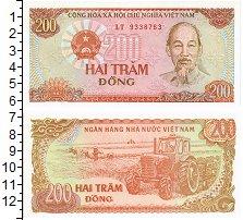 Изображение Банкноты Вьетнам 200 донг 1987  UNC Портрет Хо Ши Мина.Т
