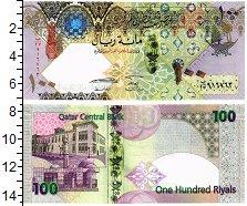 Изображение Банкноты Катар 100 риал 2007  UNC