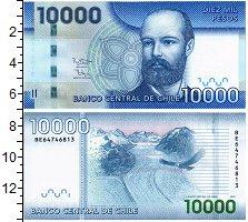 Изображение Банкноты Чили 10000 песо 2016  UNC