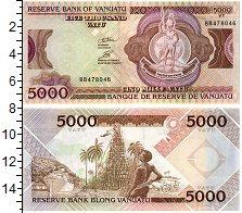 Изображение Банкноты Вануату 5000 вату 2000  UNC