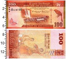 Изображение Банкноты Шри-Ланка 100 рупий 2016  UNC