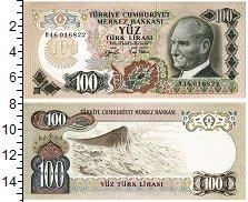 Изображение Банкноты Турция 100 лир 0  UNC-