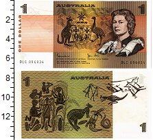 Изображение Банкноты Австралия 1 доллар 0  UNC