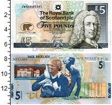 Изображение Банкноты Шотландия 5 фунтов 2005  UNC