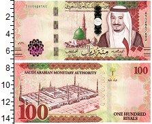 Изображение Банкноты Саудовская Аравия 100  риал 2017  UNC