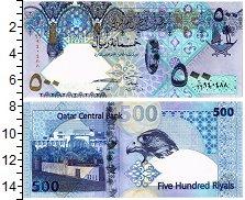 Изображение Банкноты Катар 500 риалов 2007  UNC