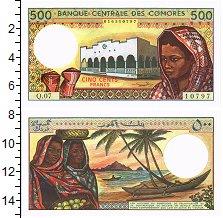 Изображение Банкноты Коморские острова 500 франков 0  UNC