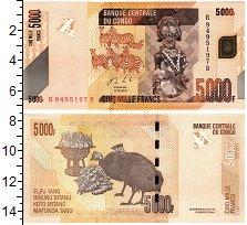 Изображение Банкноты Конго 5000 франков 2013  UNC