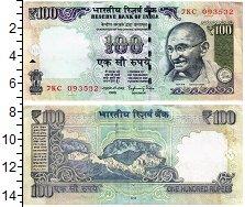 Изображение Банкноты Индия 100 рупий 2015  XF Ганди