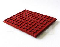 Изображение Аксессуары для монет Другие Пластиковый планшет на 99 ячеек (19х19х04мм) 0   Внешний размер планш