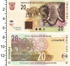 Изображение Банкноты ЮАР 20 ранд 2005  UNC