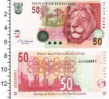 Изображение Банкноты ЮАР 50 рандов 2005  UNC