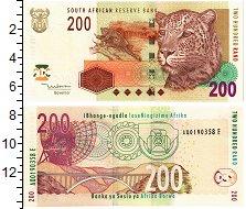 Изображение Банкноты ЮАР 200 рандов 0  UNC