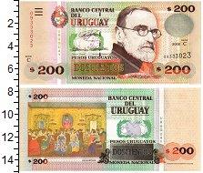 Изображение Банкноты Уругвай 200 песо 2006  UNC