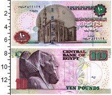 Изображение Банкноты Египет 10 фунтов 2009  UNC