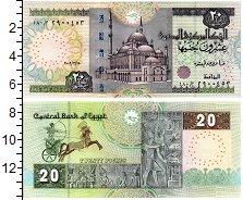 Изображение Банкноты Египет 20 фунтов 2009  UNC