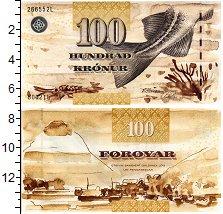 Изображение Банкноты Фарерские острова 100 крон 0  UNC