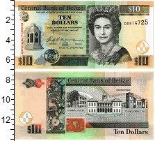 Изображение Банкноты Белиз 10 долларов 2005  UNC