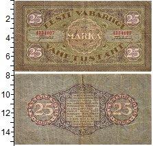 Изображение Банкноты Эстония 25 марок 1922  VF