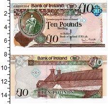 Изображение Банкноты Ирландия 10 фунтов 2013  UNC