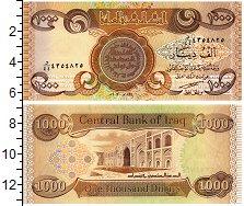 Изображение Банкноты Ирак 1000 динар 2003  UNC