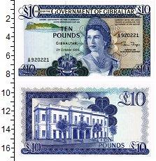 Изображение Банкноты Гибралтар 10 фунтов 1986  UNC