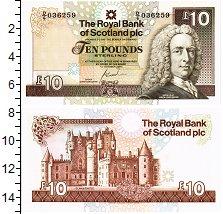 Изображение Банкноты Шотландия 10 фунтов 2001  UNC