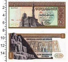 Изображение Банкноты Египет 1 фунт 1977  XF
