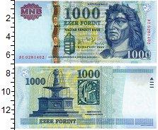 Продать Банкноты Венгрия 1000 форинтов 2006