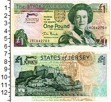 Изображение Банкноты Остров Джерси 1 фунт 2004  XF