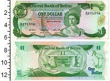 Продать Банкноты Белиз 1 доллар 1982