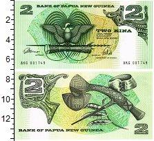 Изображение Банкноты Папуа-Новая Гвинея 2 кина 1983  UNC