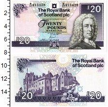 Изображение Банкноты Шотландия 20 фунтов 2000  UNC