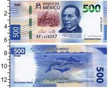 Изображение Банкноты Мексика 500 песо 2017  UNC