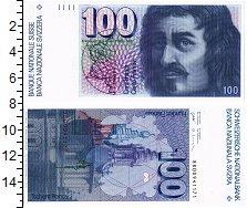 Изображение Банкноты Швейцария 100 франков 0  UNC