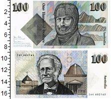Изображение Банкноты Австралия 100 долларов 1984  UNC