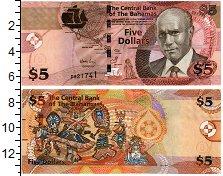 Изображение Банкноты Багамские острова 5 долларов 2007  UNC