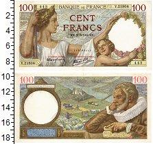 Изображение Банкноты Франция 100 франков 1941  XF
