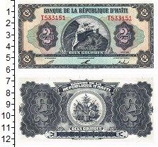 Изображение Банкноты Гаити 2 гурда 1992  UNC
