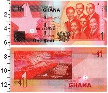 Изображение Банкноты Гана 1 седи 2015  UNC