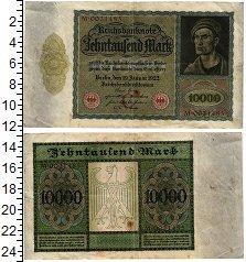 Изображение Банкноты Веймарская республика 10000 марок 1922  VF+