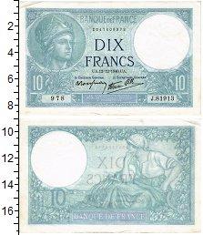 Изображение Банкноты Франция 10 франков 1940  XF