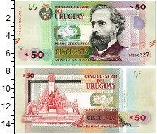 Изображение Банкноты Уругвай 50 песо 2015  UNC Хосе Педро