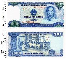 Изображение Банкноты Вьетнам 20000 донгов 0  UNC