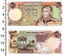 Изображение Банкноты Иран 1000 риалов 0  UNC Мохаммед Реза Пехлев