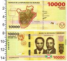 Изображение Банкноты Бурунди 10000 франков 2015  UNC